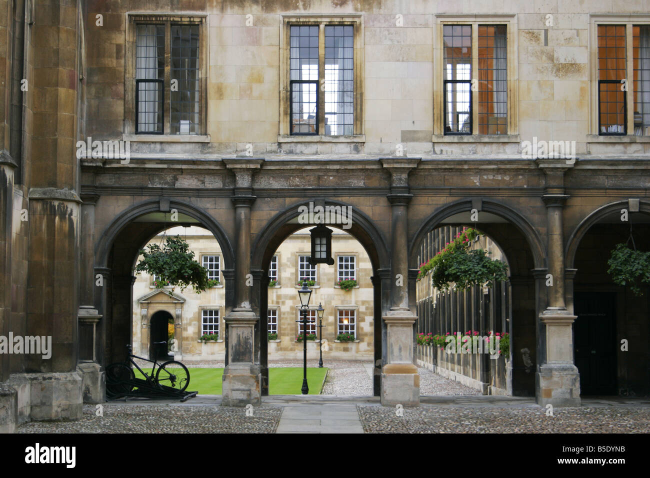 Peterhouse College Cambridge - Stock Image