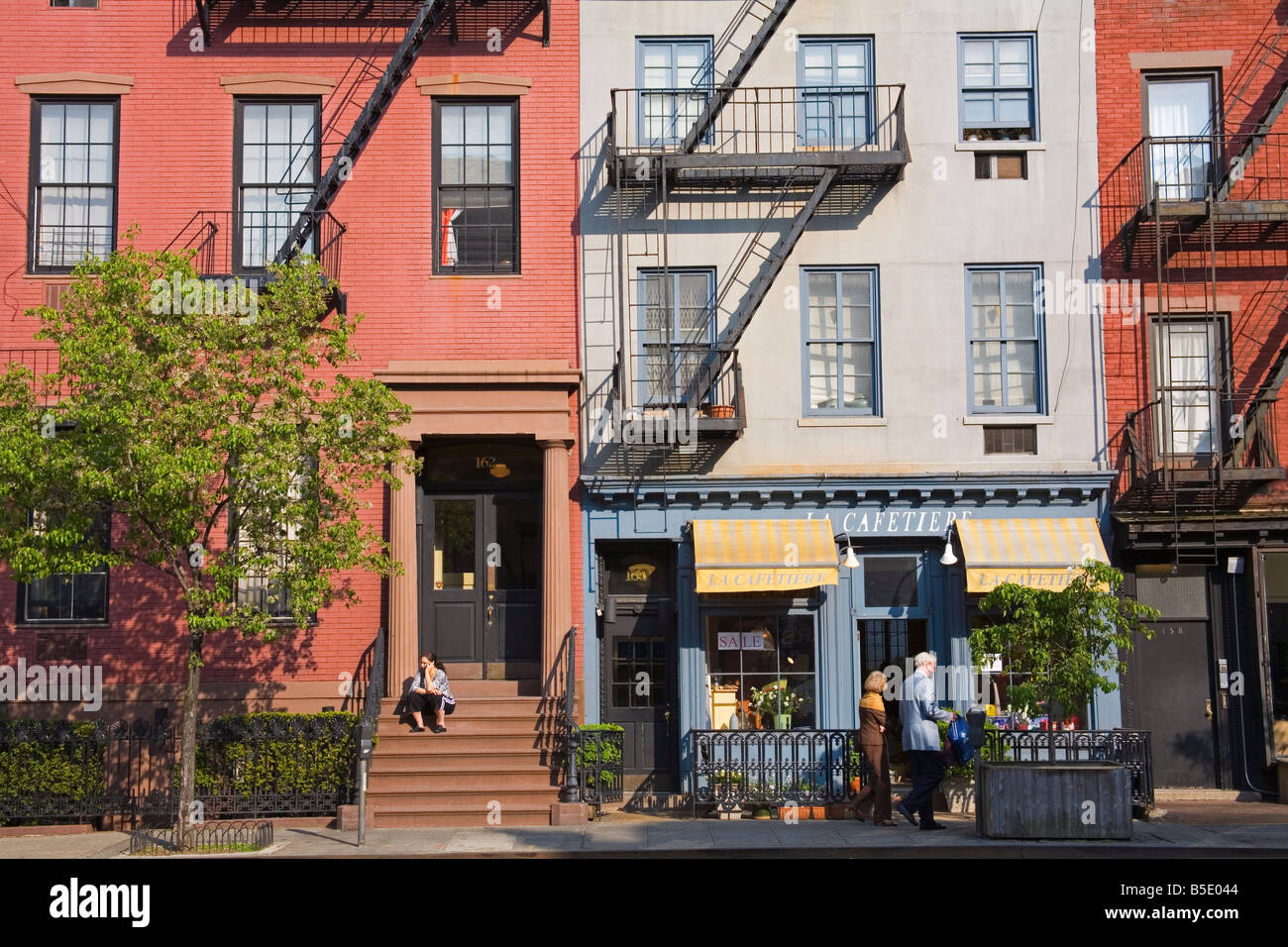 9th Avenue in Chelsea District, Midtown Manhattan, New York City, USA, North America - Stock Image