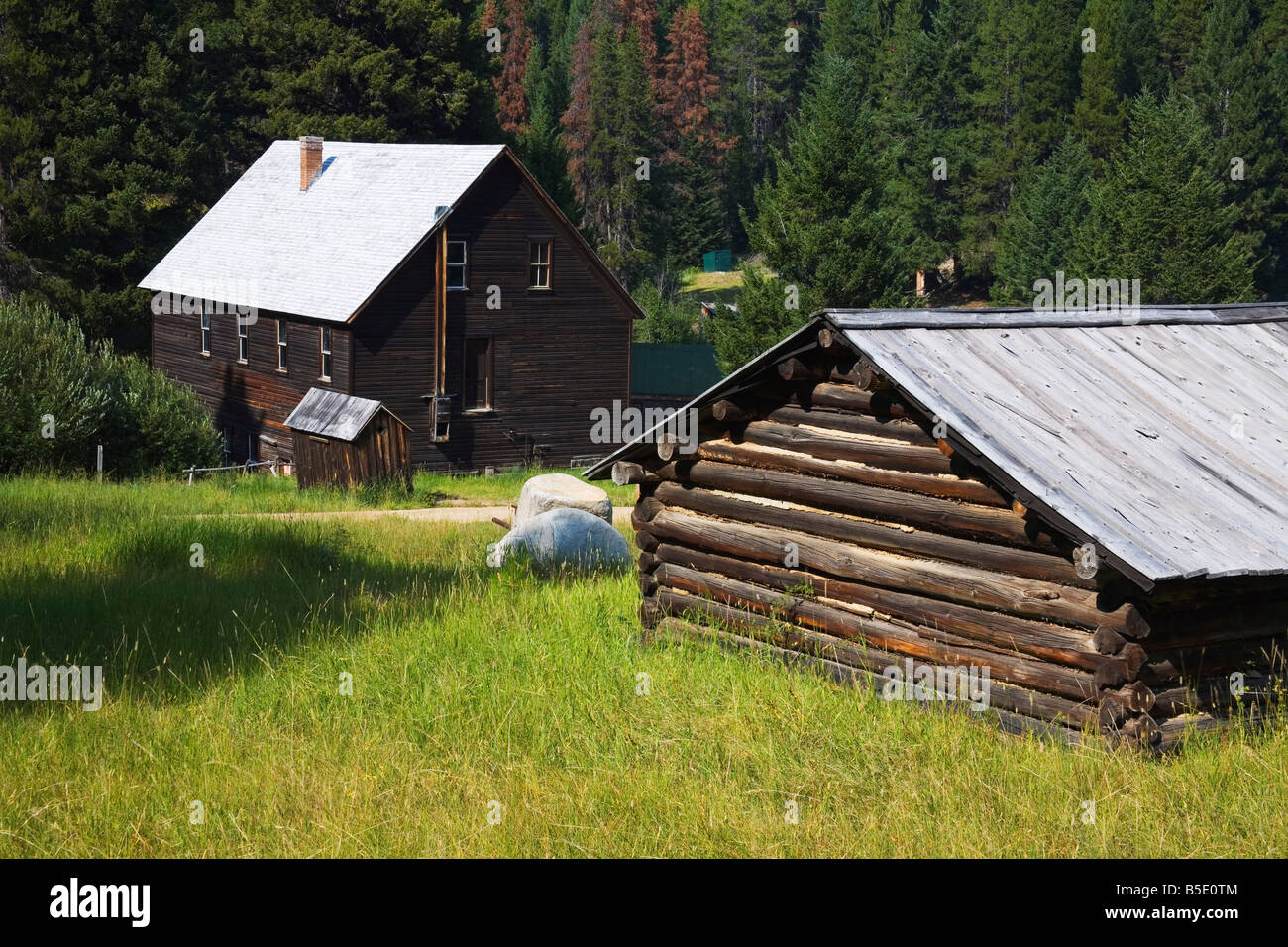 Davey 39 s store garnet ghost town state park missoula - Towne place at garden state park ...
