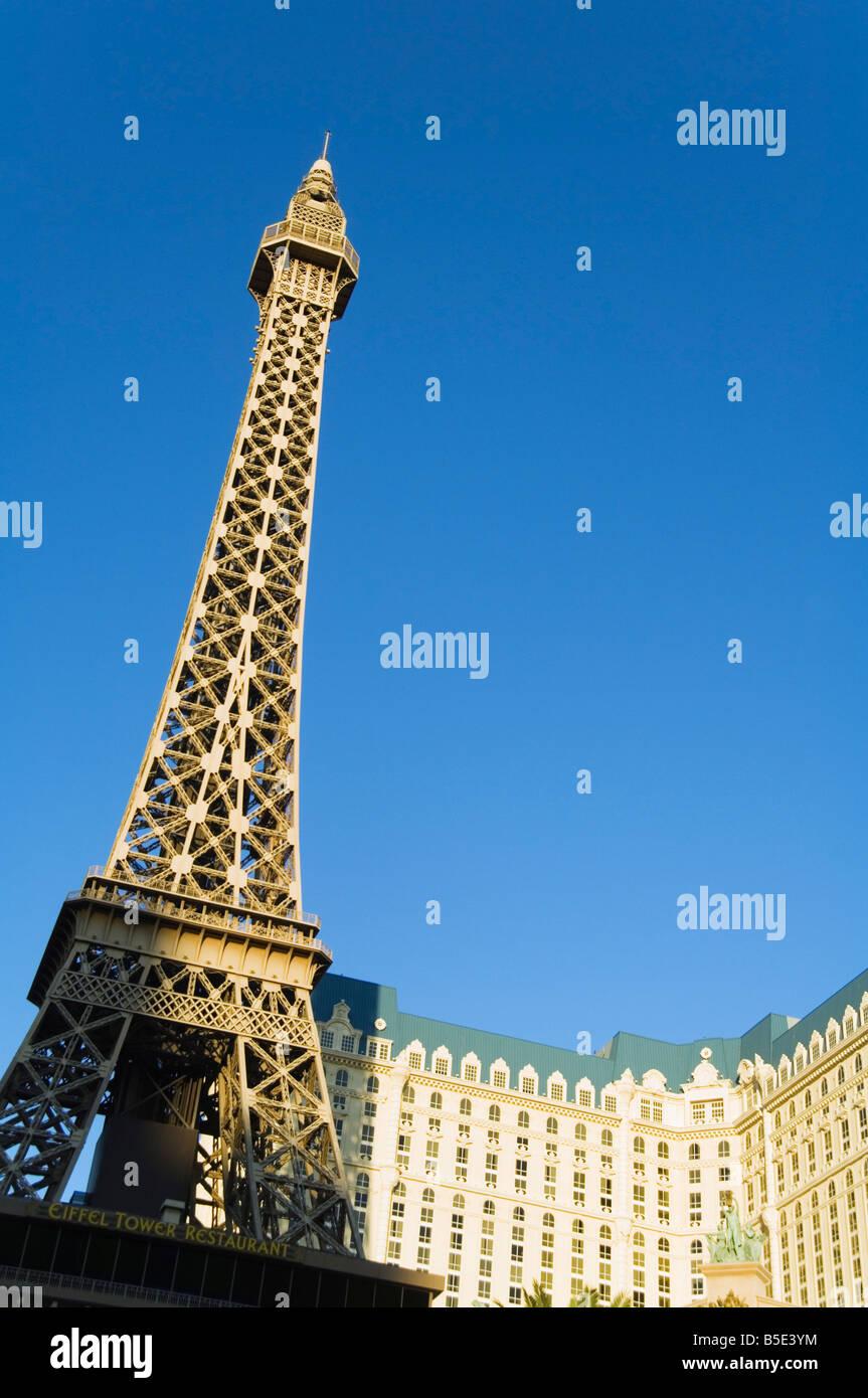 Mini Las Vegas >> Paris Hotel With Mini Eiffel Tower The Strip Las Vegas