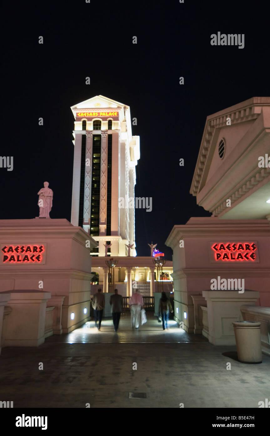 Caesar's Palace on The Strip (Las Vegas Boulevard), Las Vegas, Nevada, USA, North America - Stock Image
