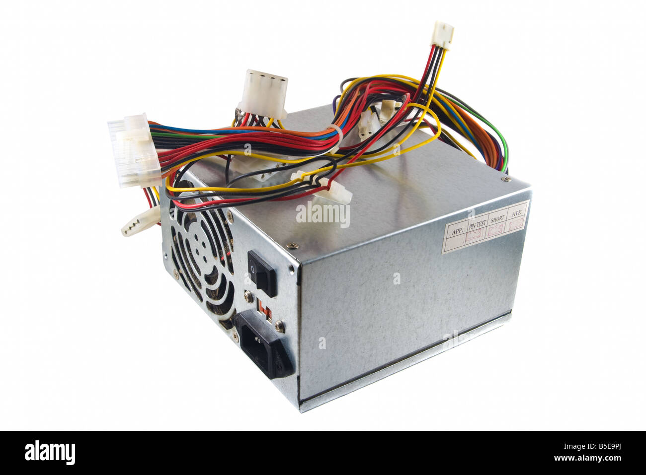 Computer Power Supply Cut Out Stock Images & Pictures - Alamy