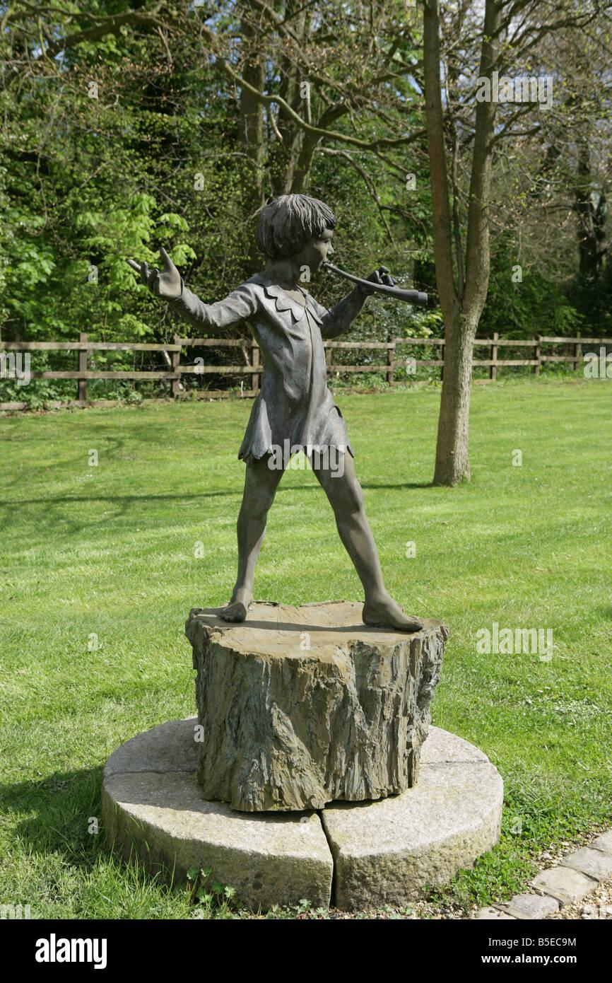 Peter Pan Garden Statue