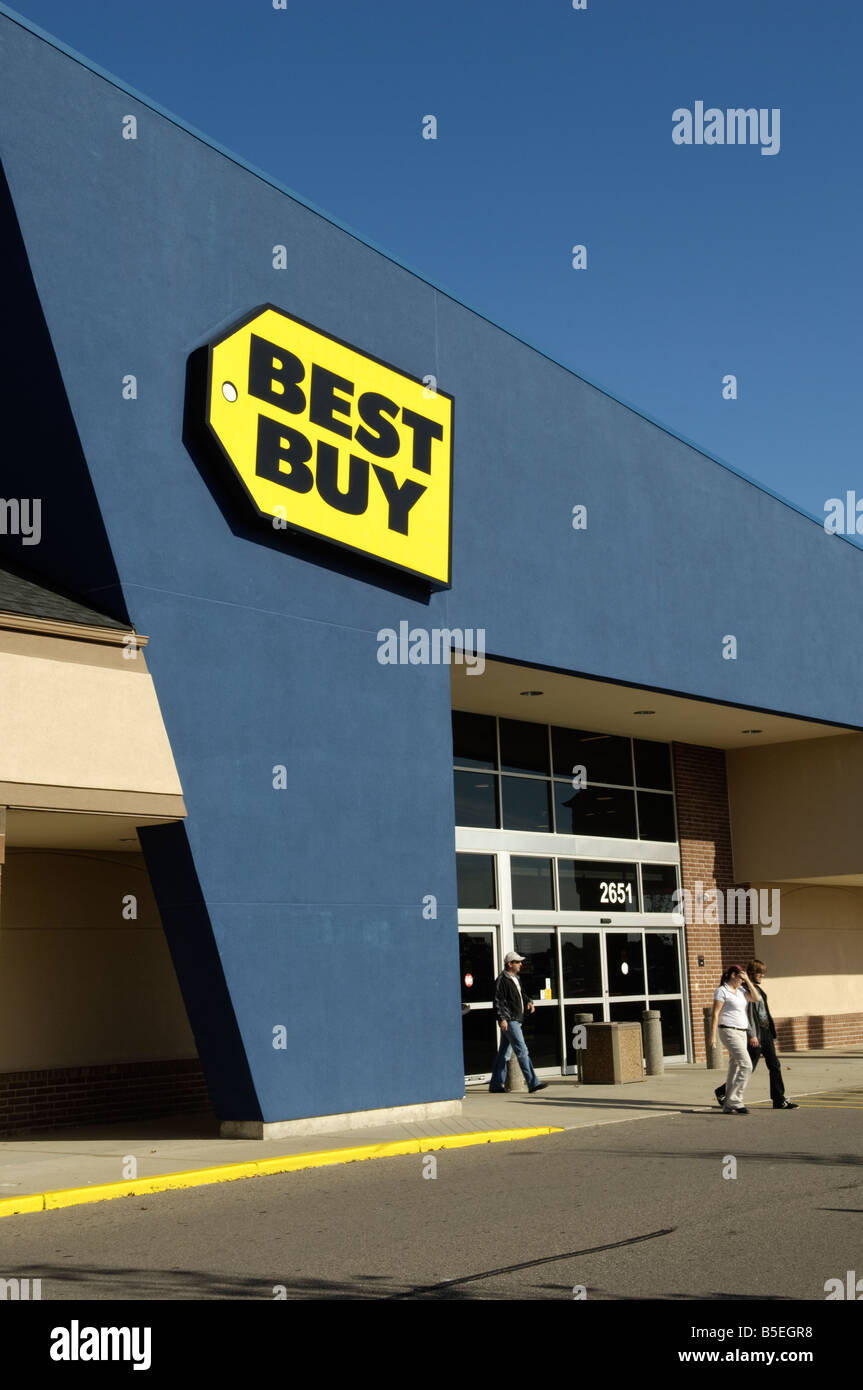Best Buy store in Rochester Michigan USA - Stock Image