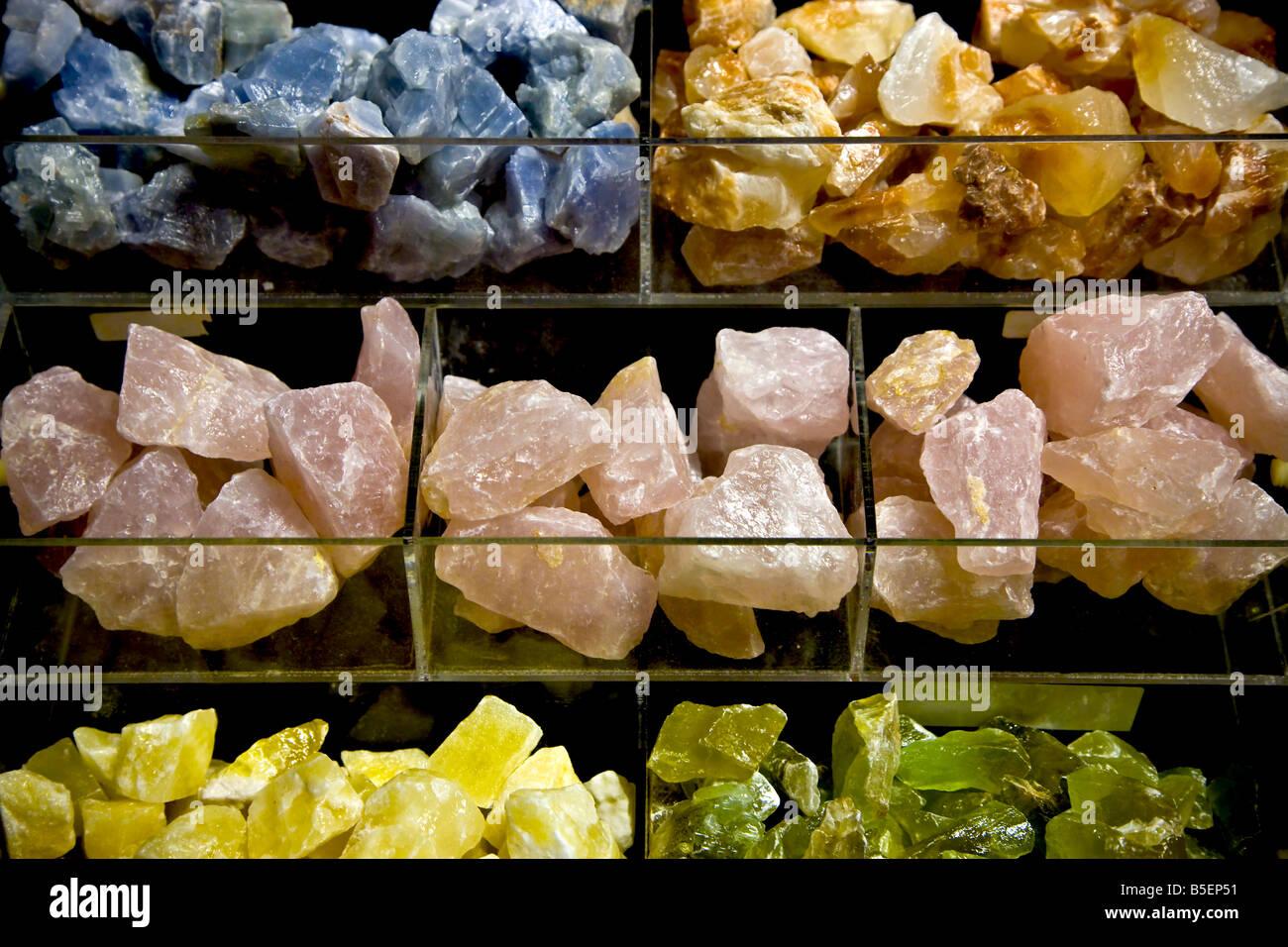 Healing stones - Stock Image