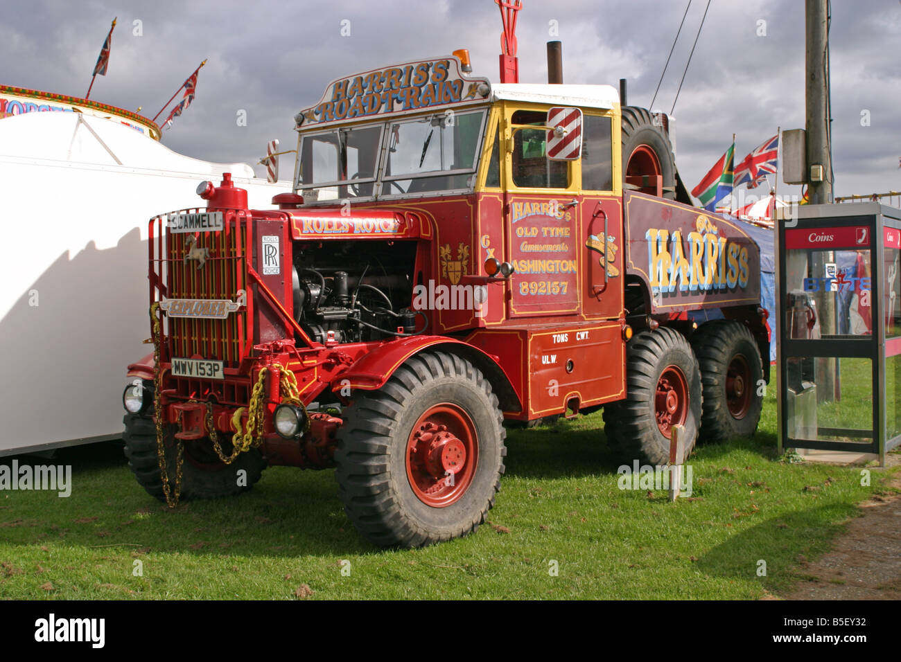 Fairground Truck Stock Photos & Fairground Truck Stock Images - Alamy