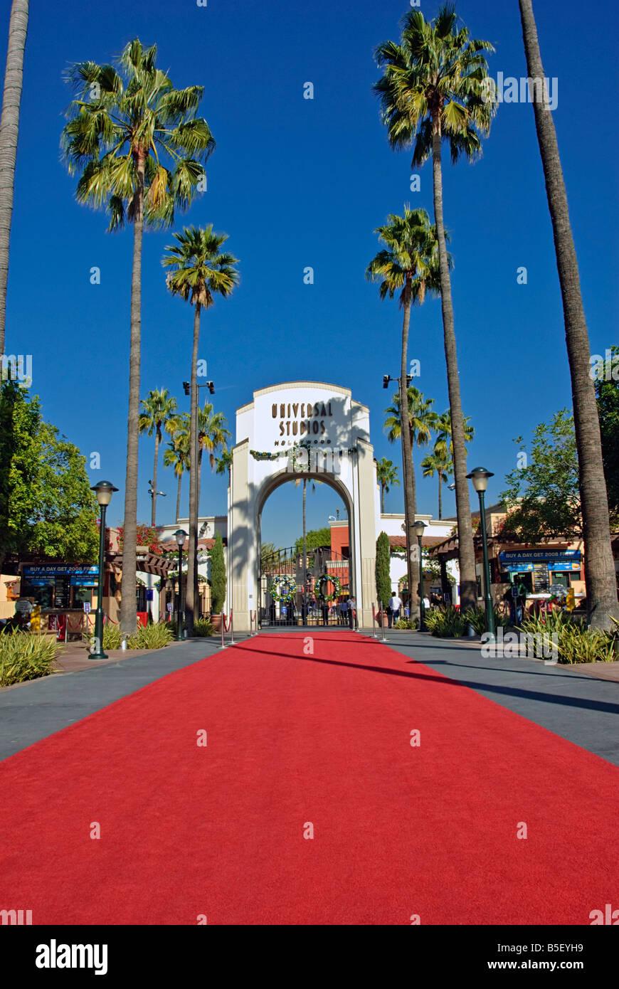 Universal Studios, LA, Hollywood, movie studio, Universal City, Universal Studios LA, CA, theme park, California, - Stock Image