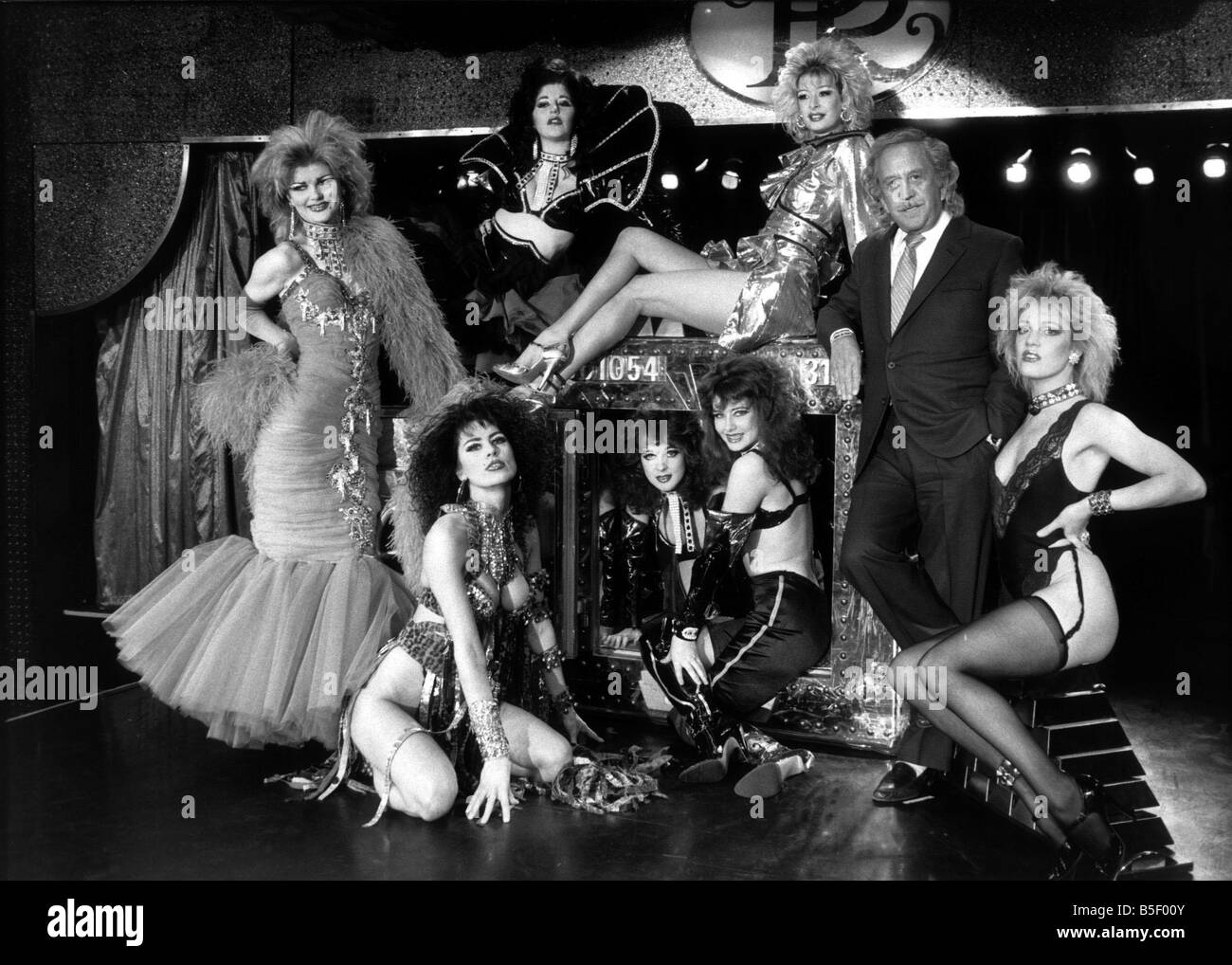 Paul raymond revue bar