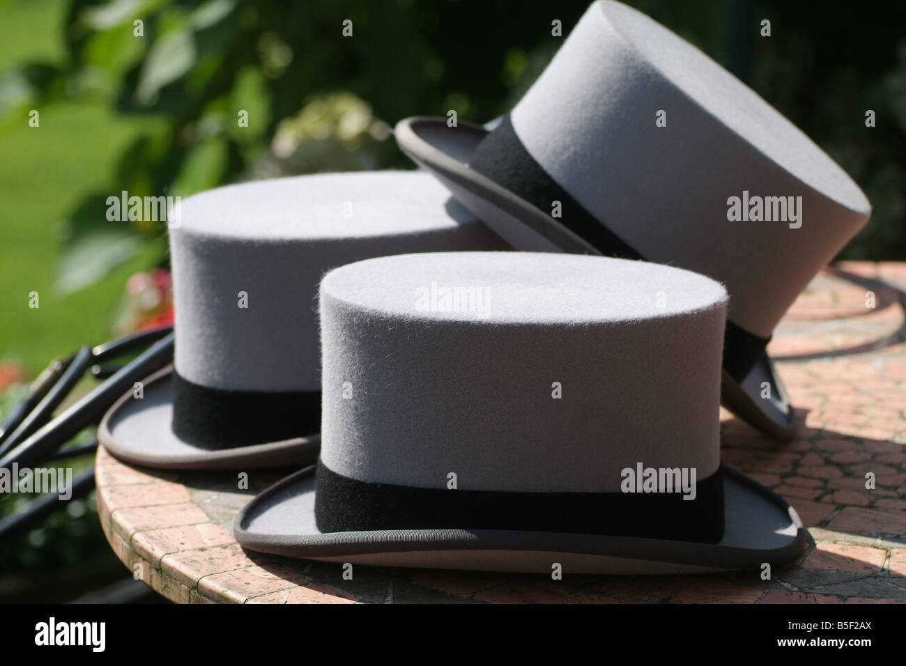 Top Hats - Stock Image