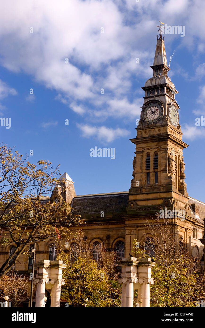 Southport Arts Centre England U K - Stock Image