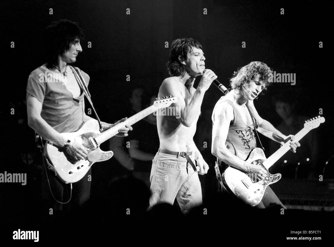 Rolling Stones First Tour Of Australia