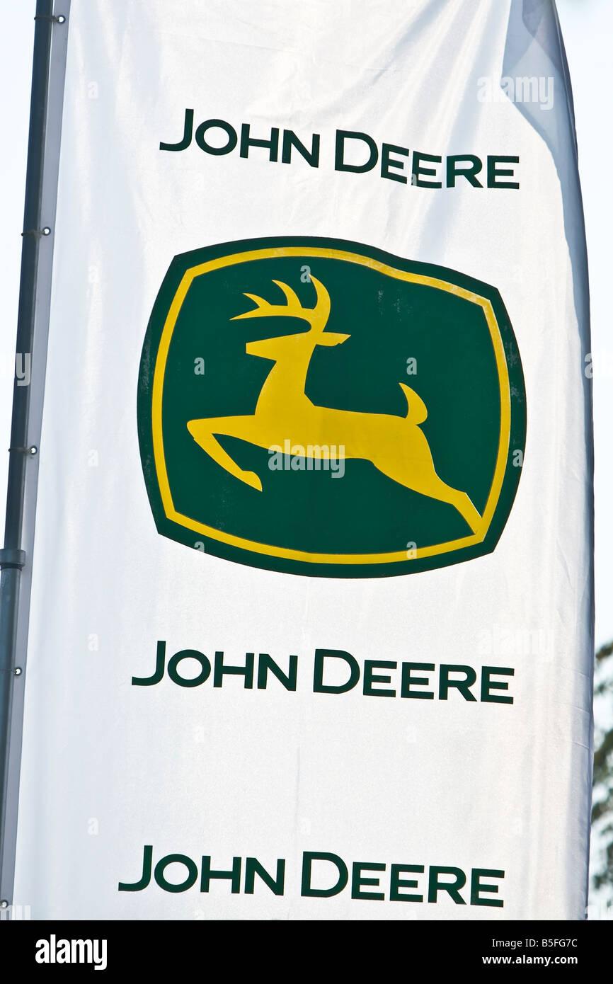 John Deere Symbol Flag Stock Photo 20625680 Alamy