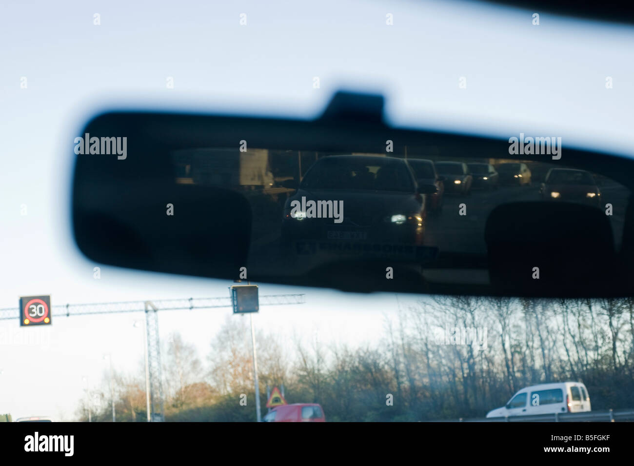 traffic (abstract concept), Gothenburg, Sweden Stock Photo