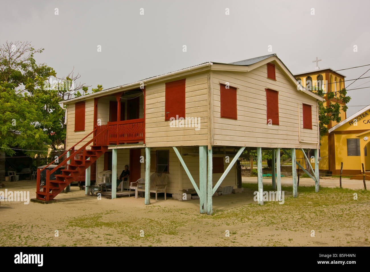 Belize Home Stock Photos Belize Home Stock Images Alamy