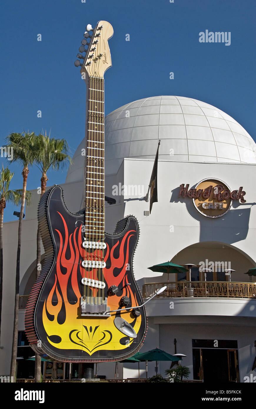 Hard Rock Cafe Hollywood Hollywood Ca  Usa
