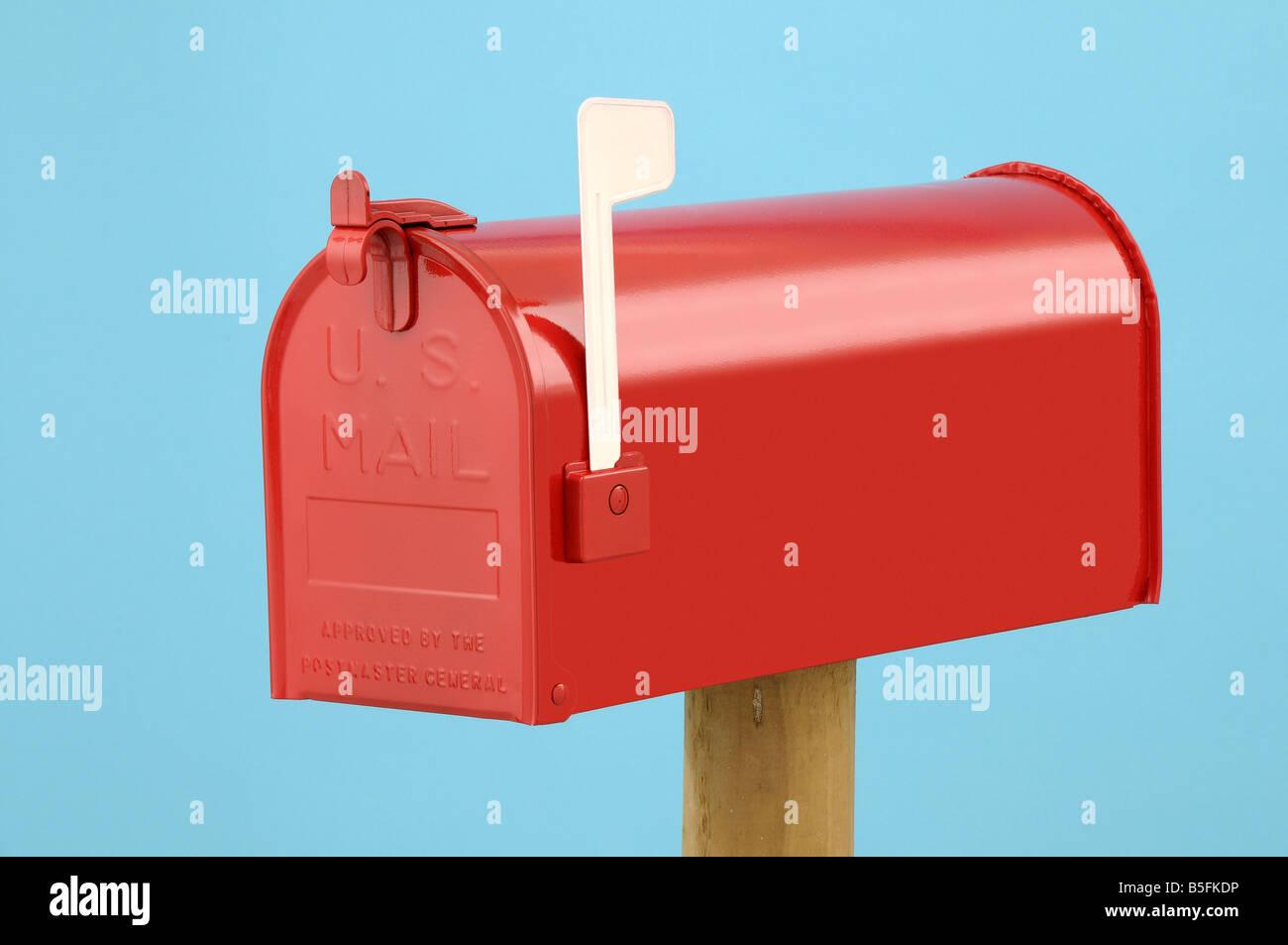 US Mailbox - Stock Image