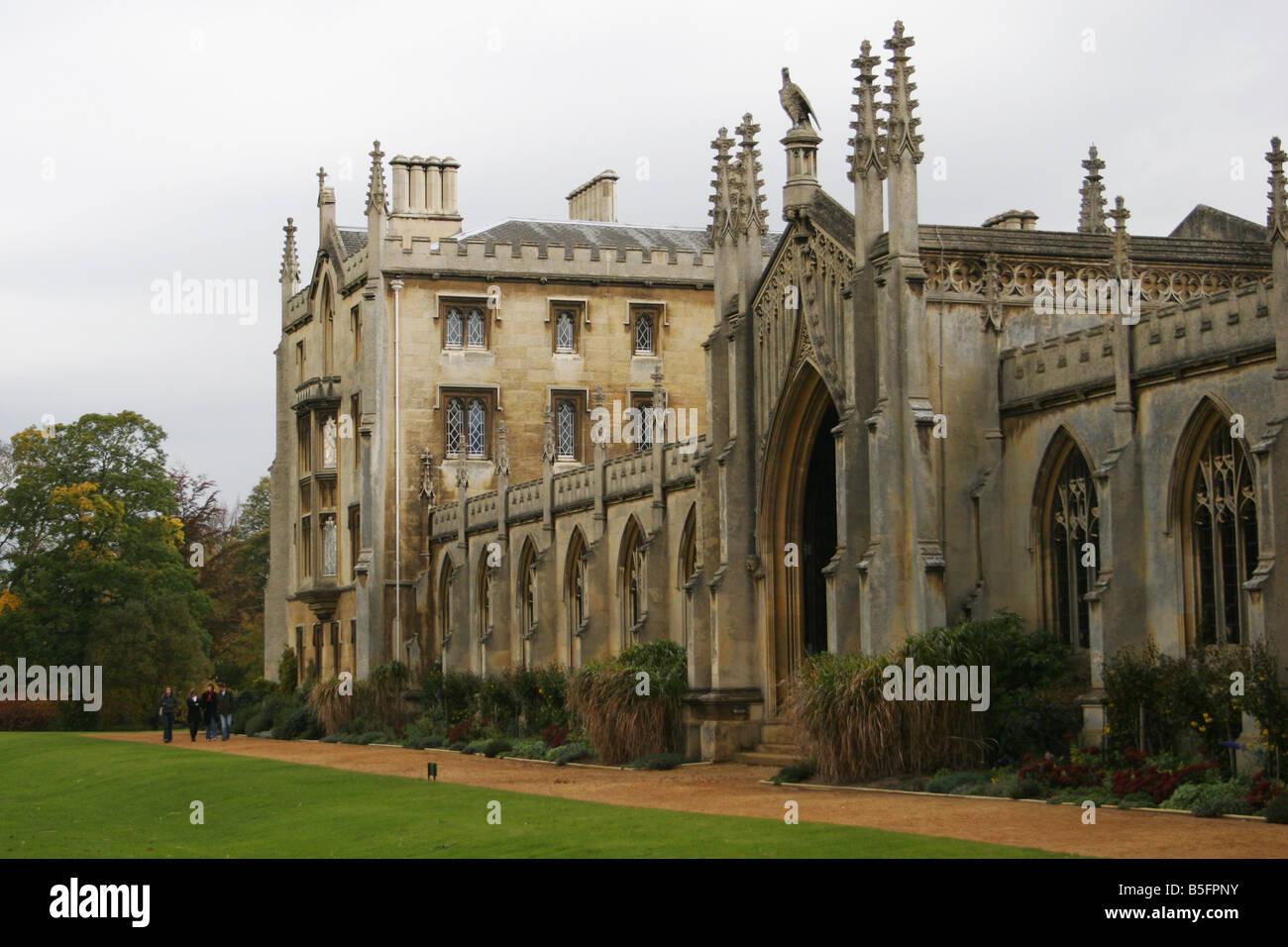 New Court at St. John's College Cambridge - Stock Image