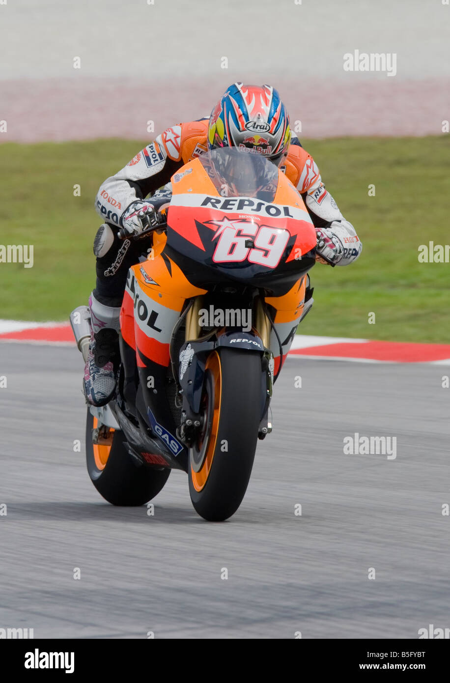 Nicky Hayden 69 Stock Photos & Nicky Hayden 69 Stock Images - Alamy