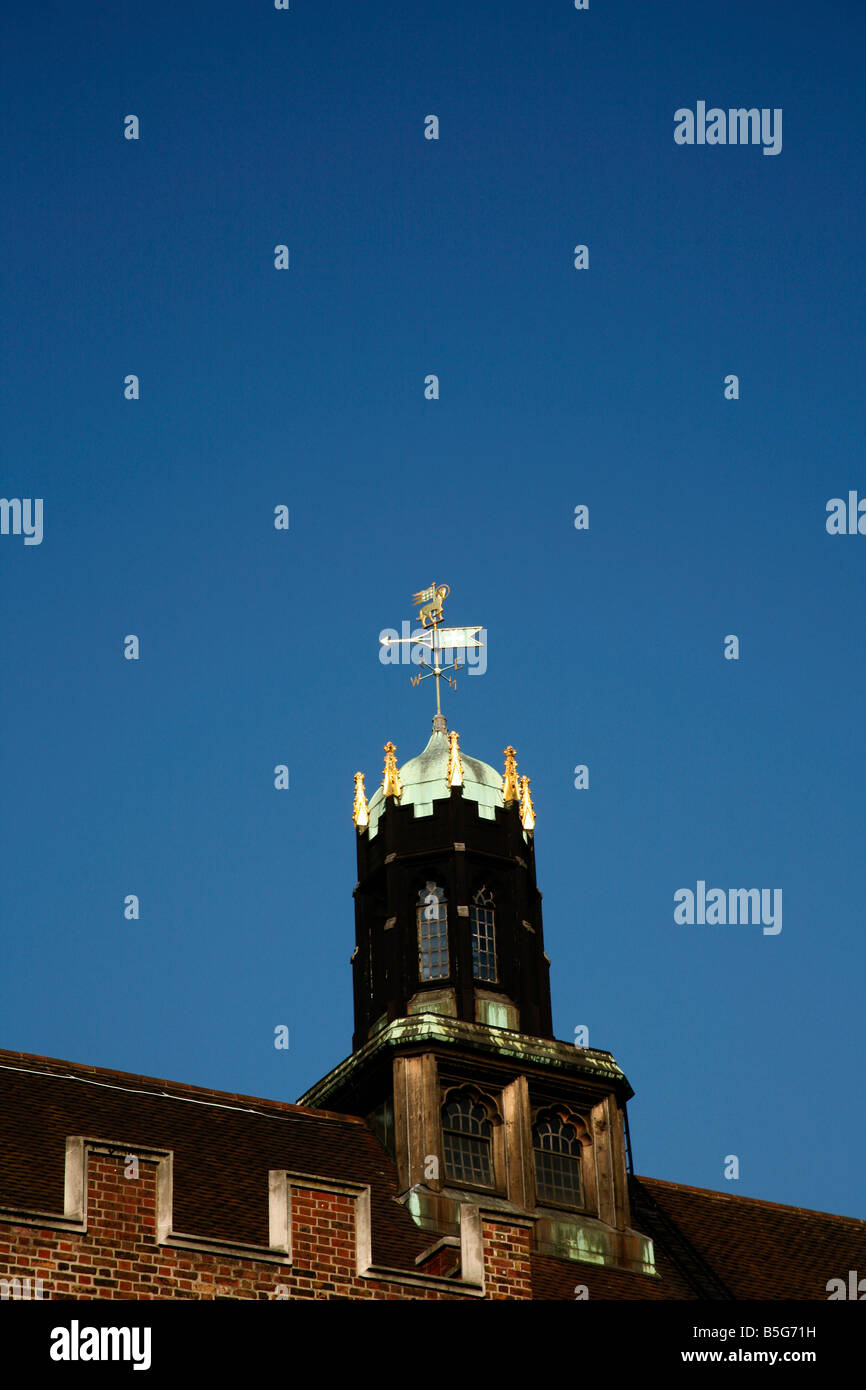 Weathervane tower on top of Middle Temple Hall, Middle Temple, London Stock Photo