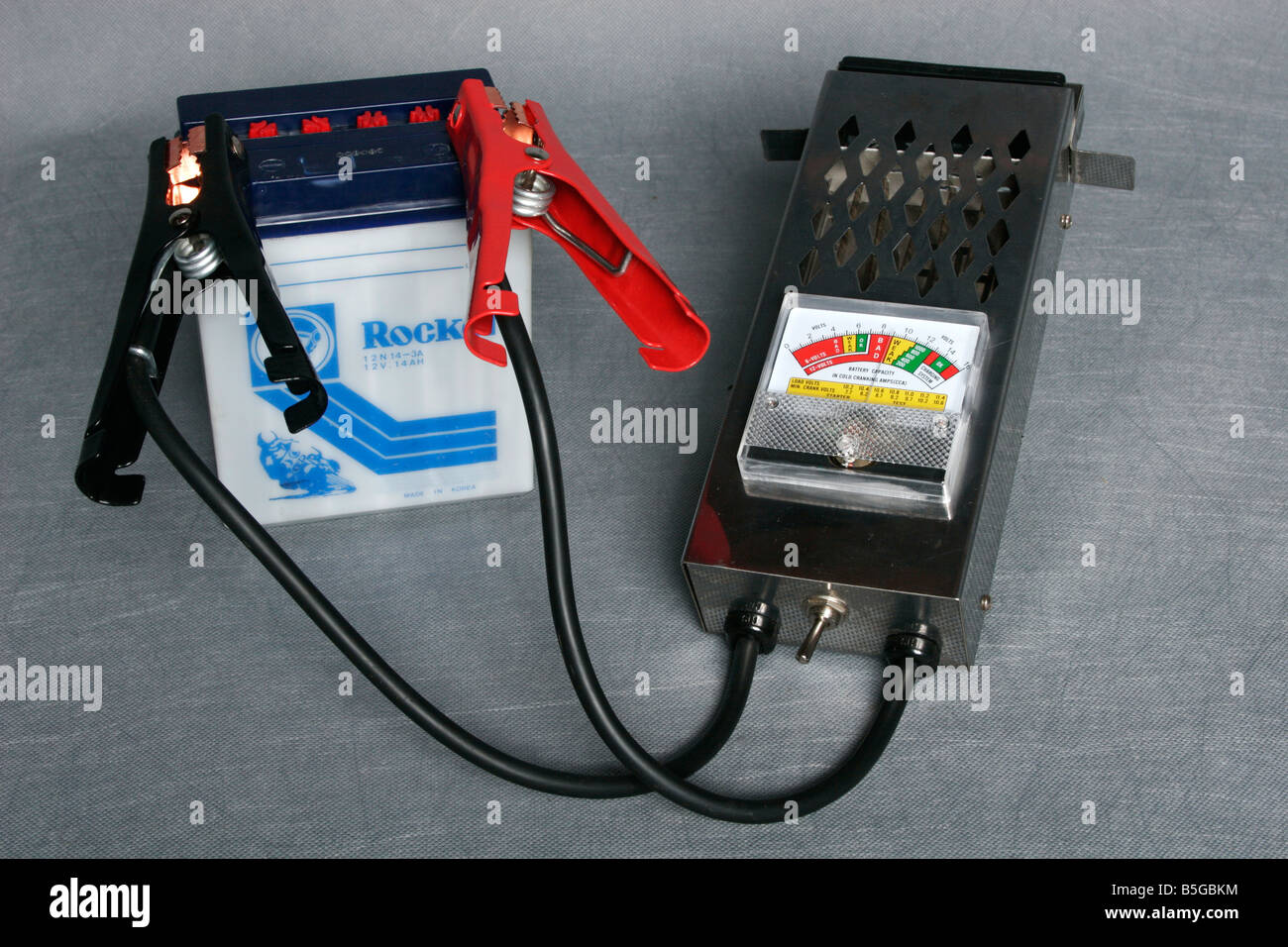 Battery Tester Stock Photos Images Alamy Electrical Testers Image