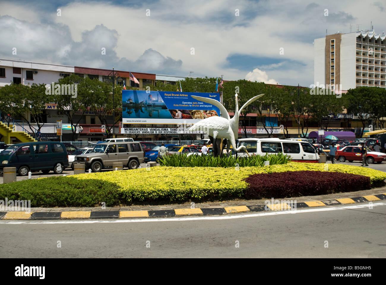 Kota Kinabalu City Scene - Stock Image
