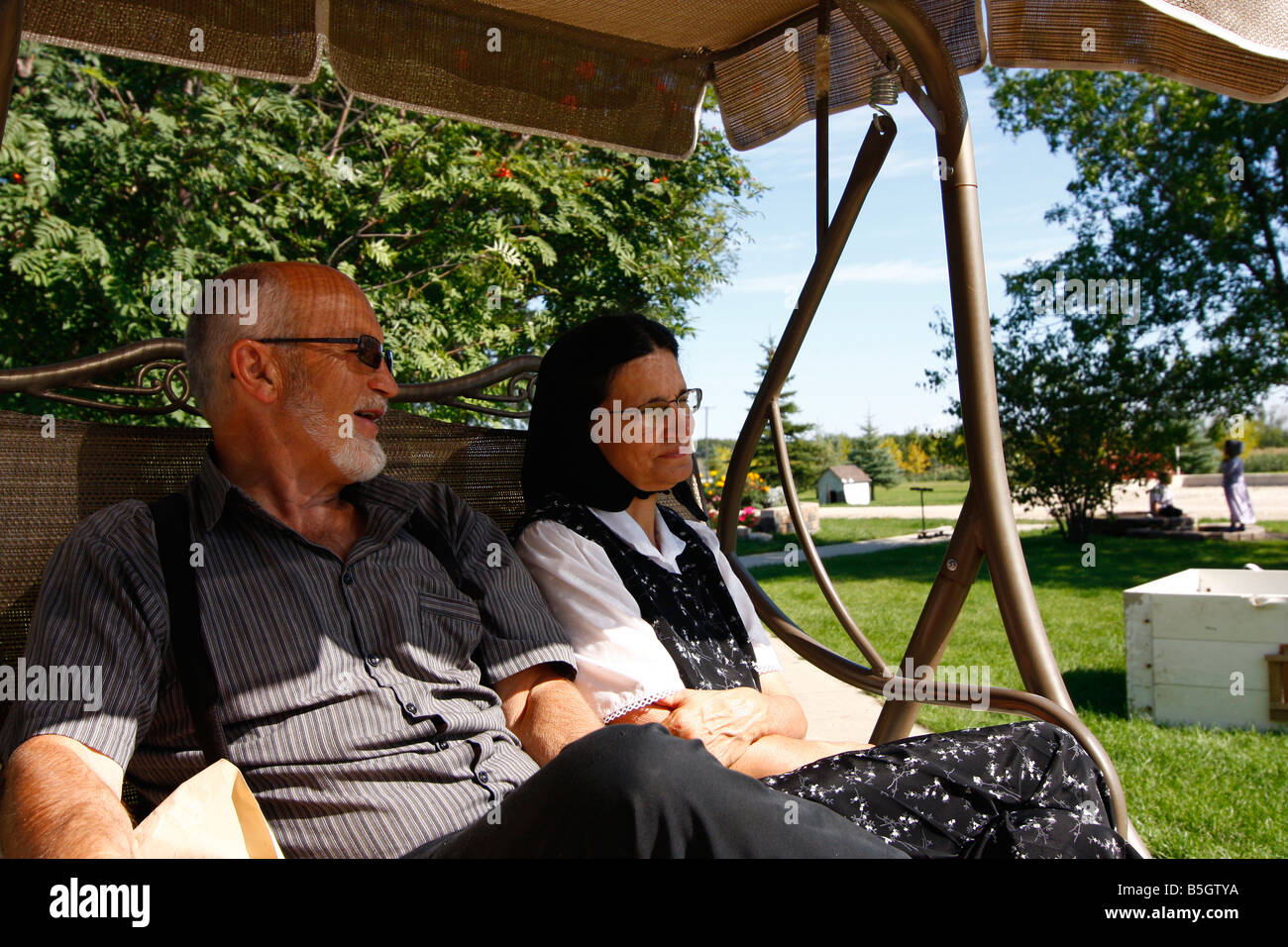 Hutterite Stock Photos & Hutterite Stock Images - Alamy