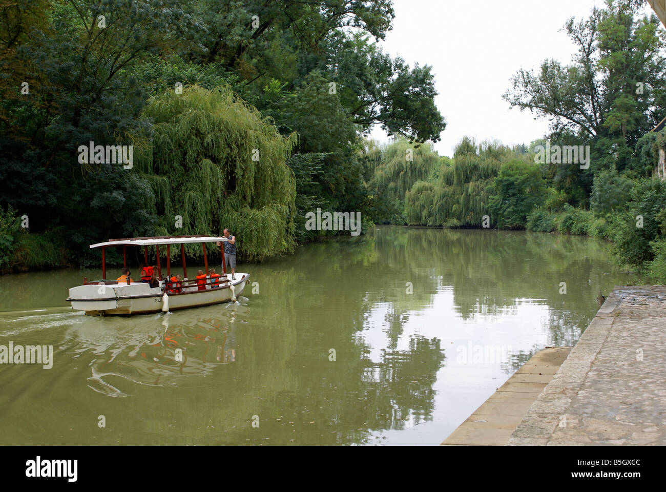 Nérac near Toulouse in South West France Stock Photo