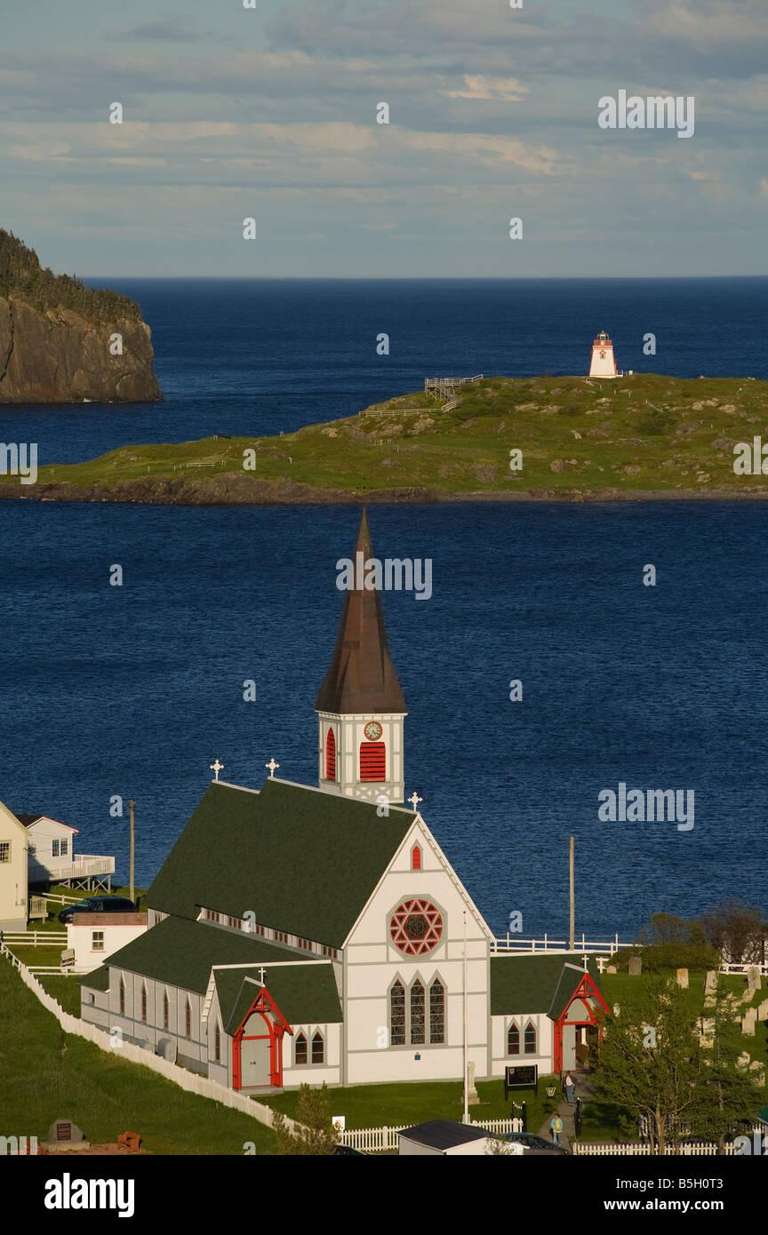 St. Paul's Anglican church, Trinity, Newfoundland&Labrador, Canada - Stock Image