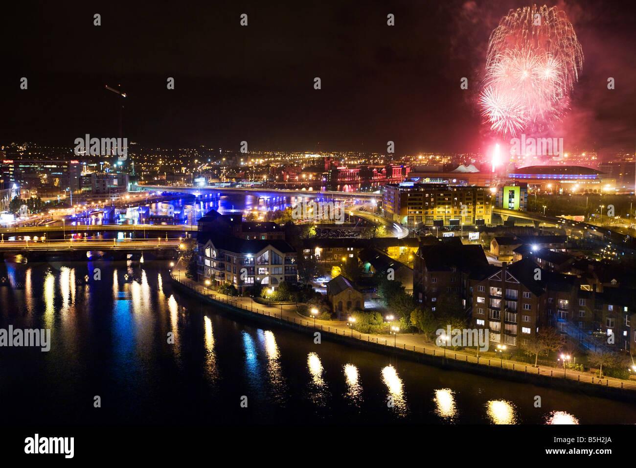 River Lagan Belfast Northern Ireland - Stock Image