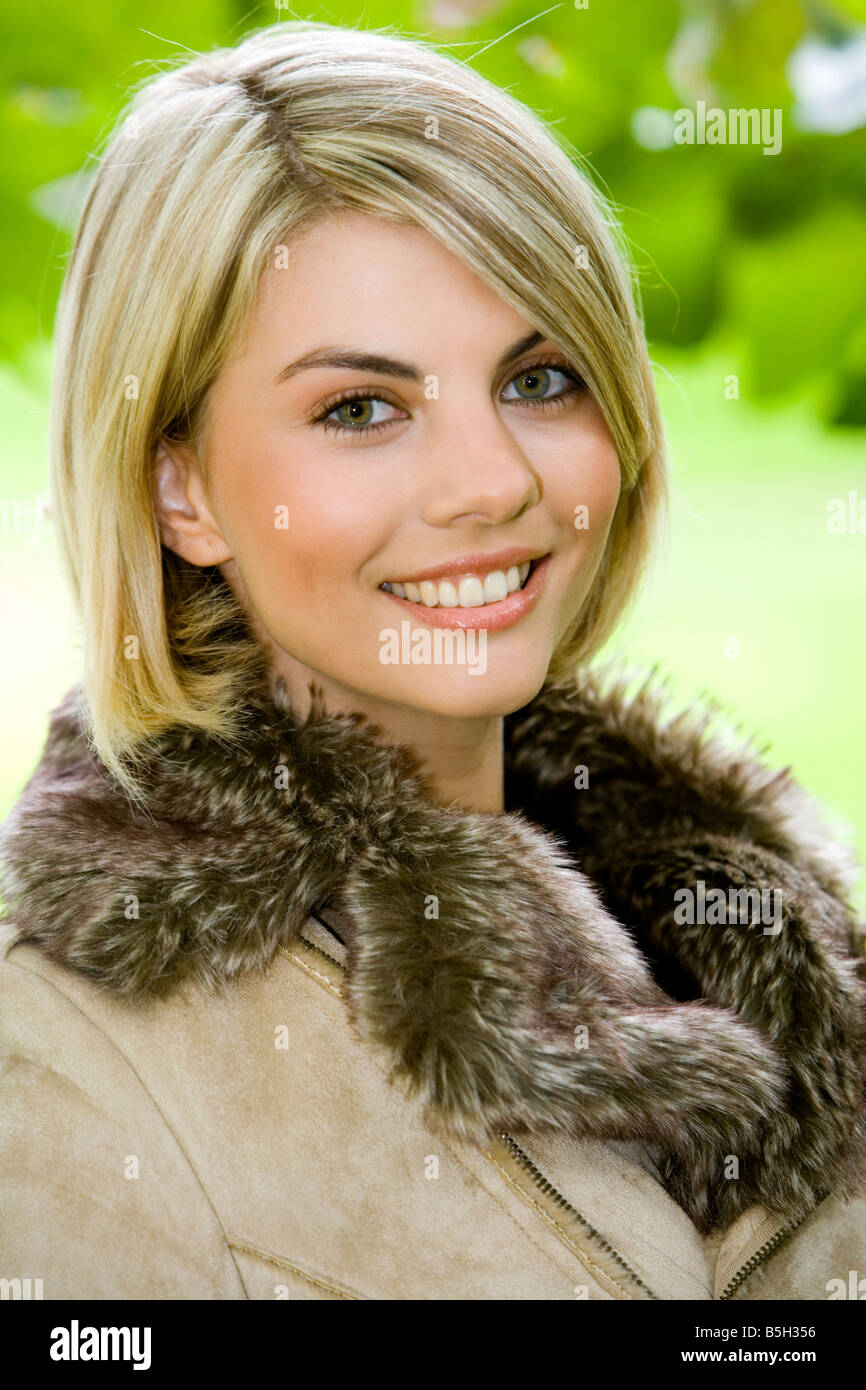 Foto frau blond