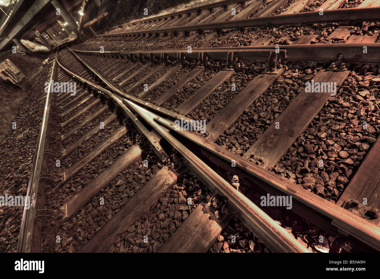 Train tracksStock Photo