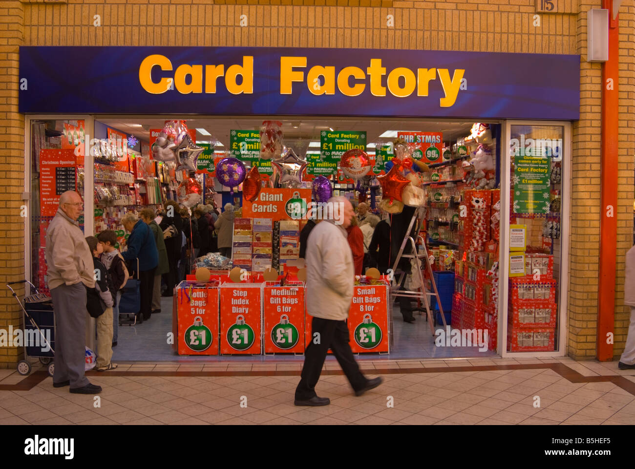 The Card Factory Shop In Lowestoft Suffolk Uk Selling Greeting Cards