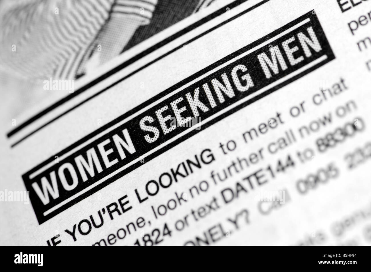classified women looking for men