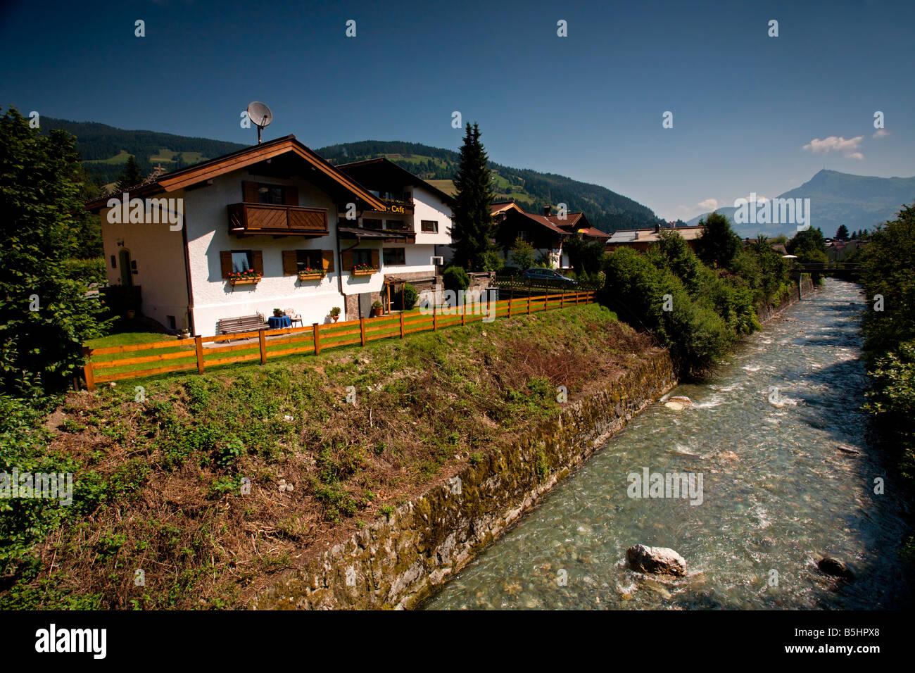 Austria: Tyrol: Kirchberg - Stock Image
