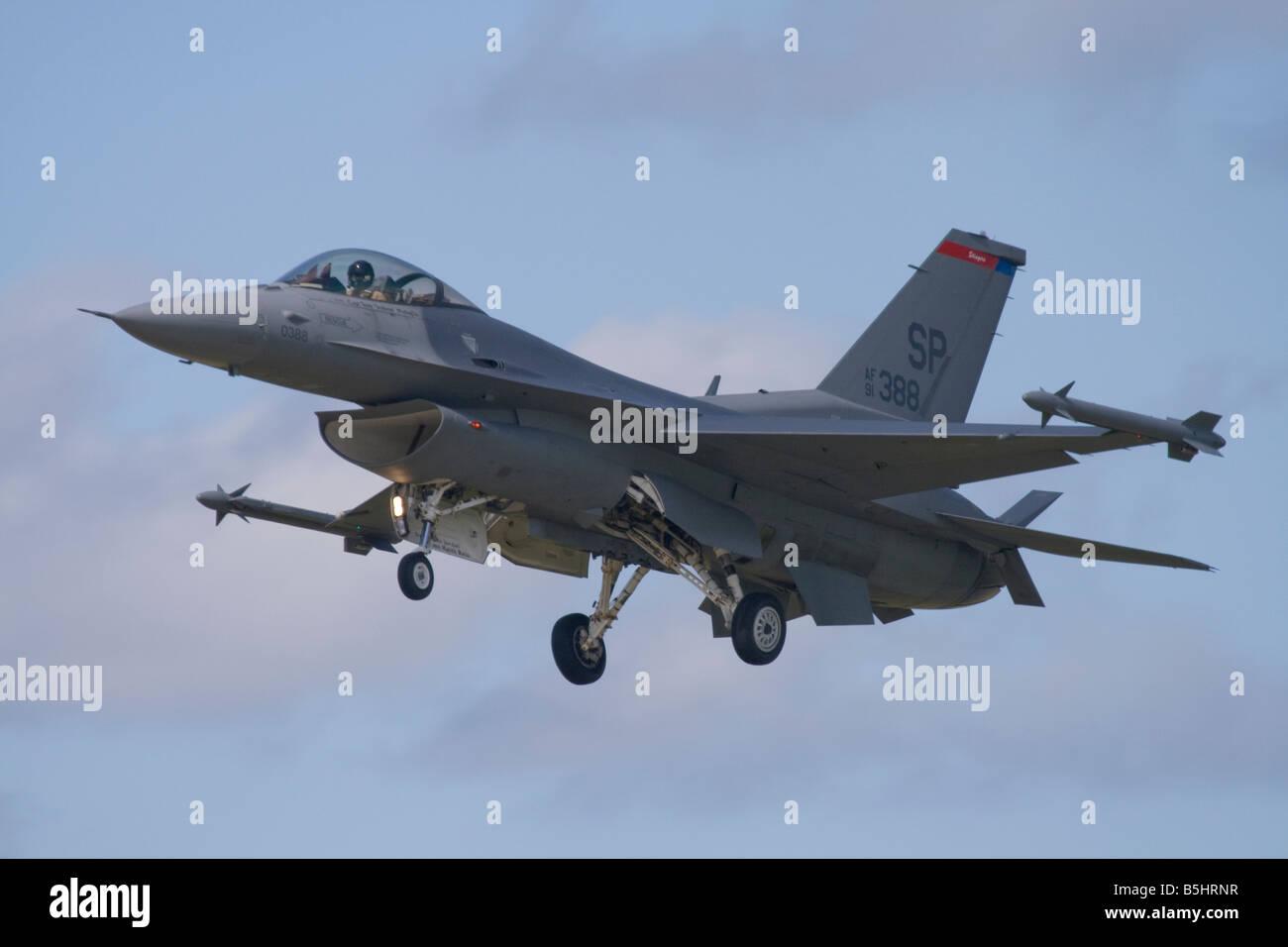 Lockheed Martin F 16 Fighting Falcon - Stock Image