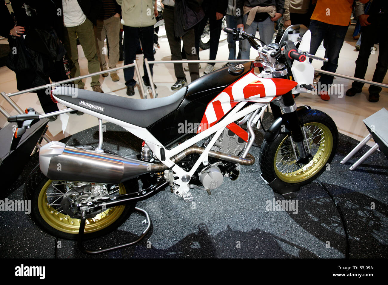 EICMA 2008 International cycle and motorcycle exhibition Milan Italy - Stock Image