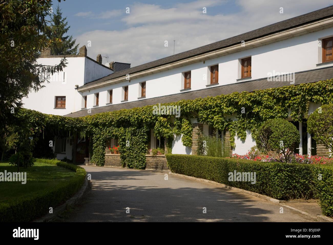 Parador Hotel, Villafranca del Bierzo, Castile and Leon, Spain - Stock Image