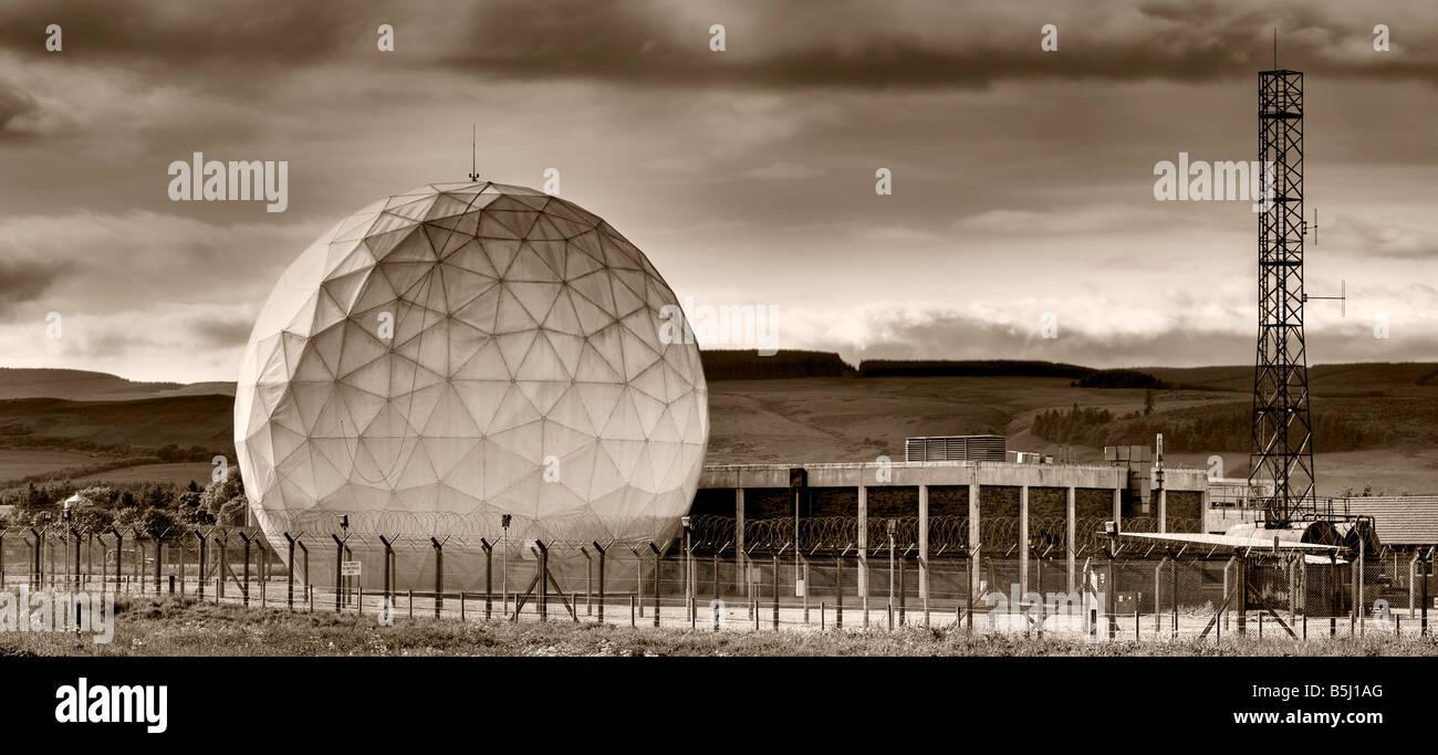 Radar Golf Ball Fife Scotland - Stock Image