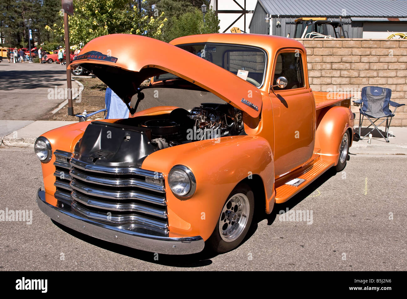 Chevrolet Truck Orange High Resolution Stock Photography And Images Alamy