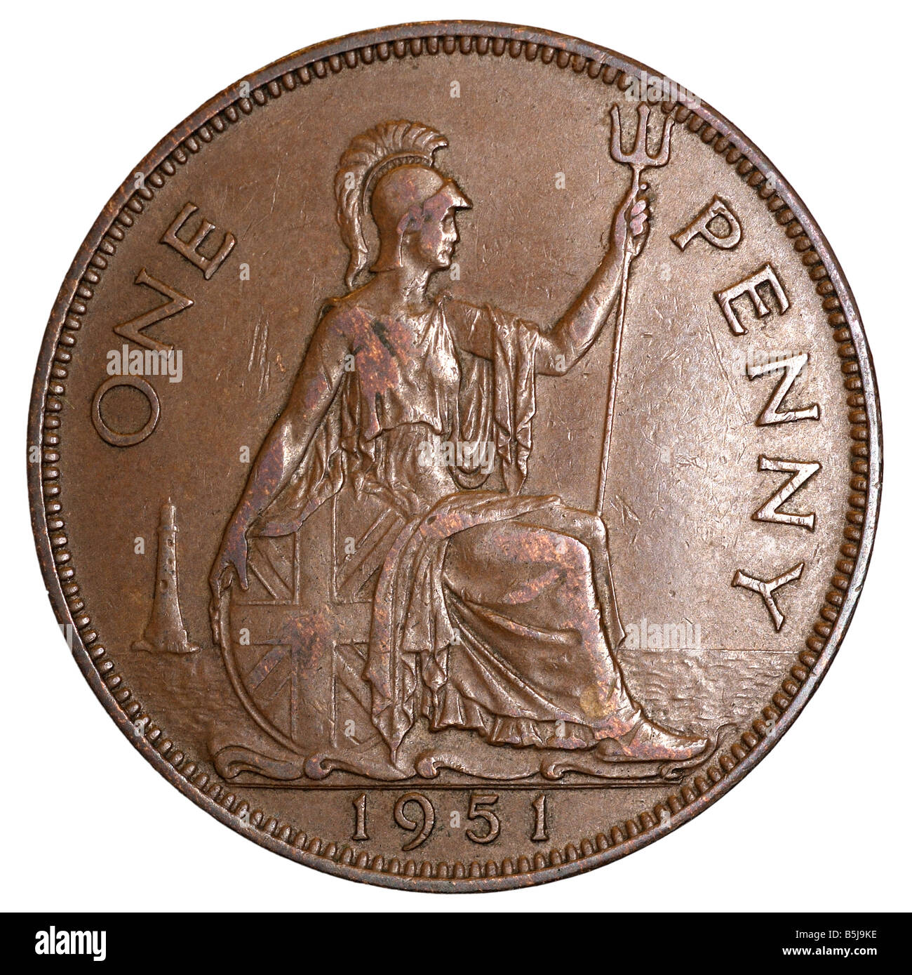1 Penny Old Pence 1951 One Denomination Coins Pfennigs