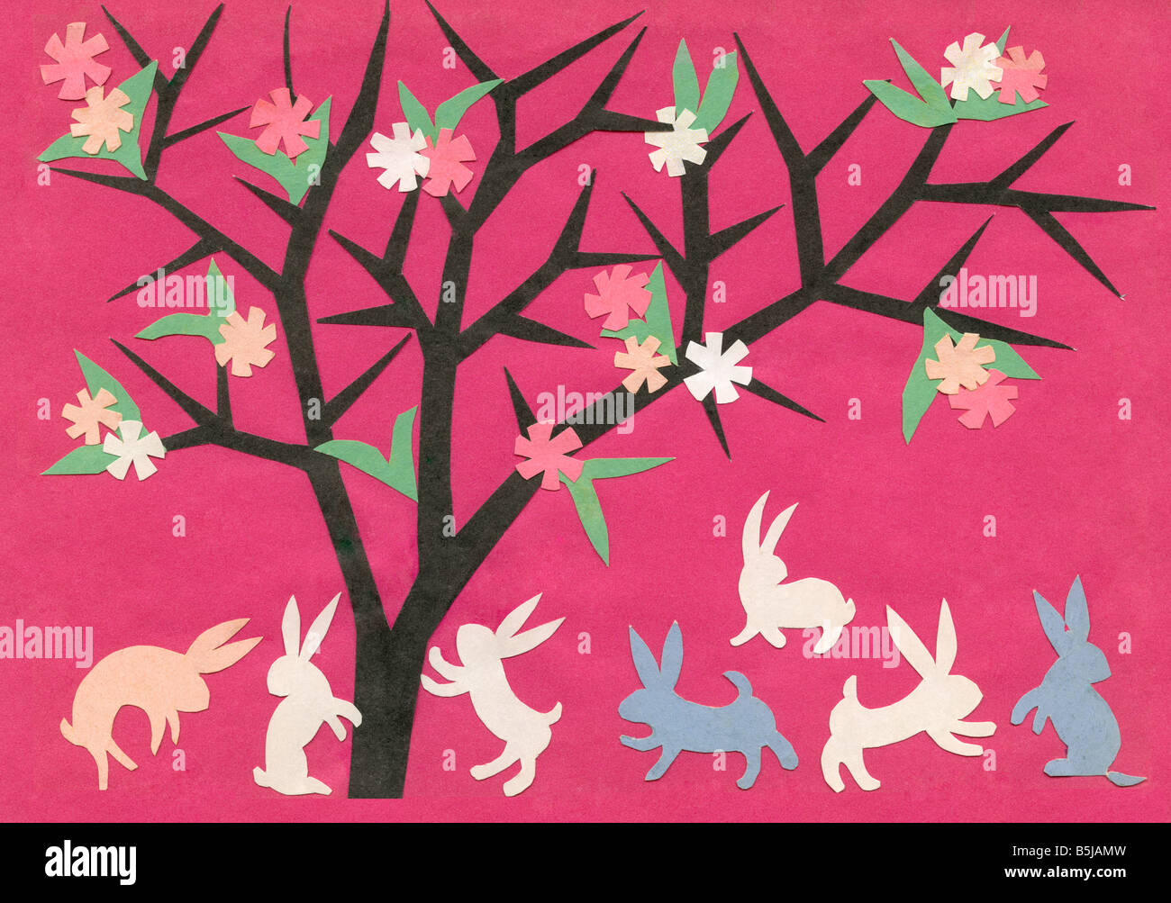Paper Cutting Easter Greeting Cards By Miss Krystyna Majewska From