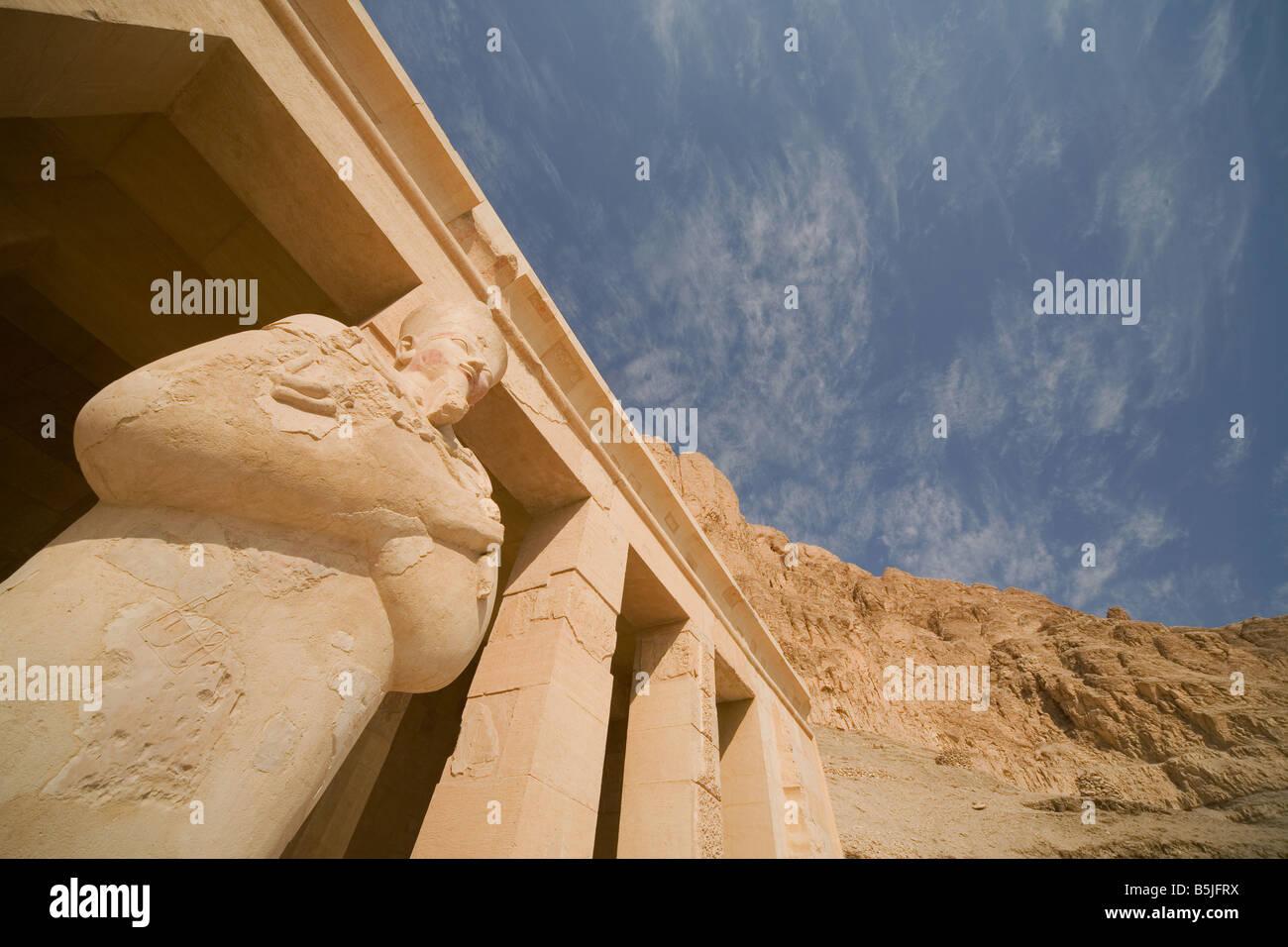temple of queen hatepshut Stock Photo