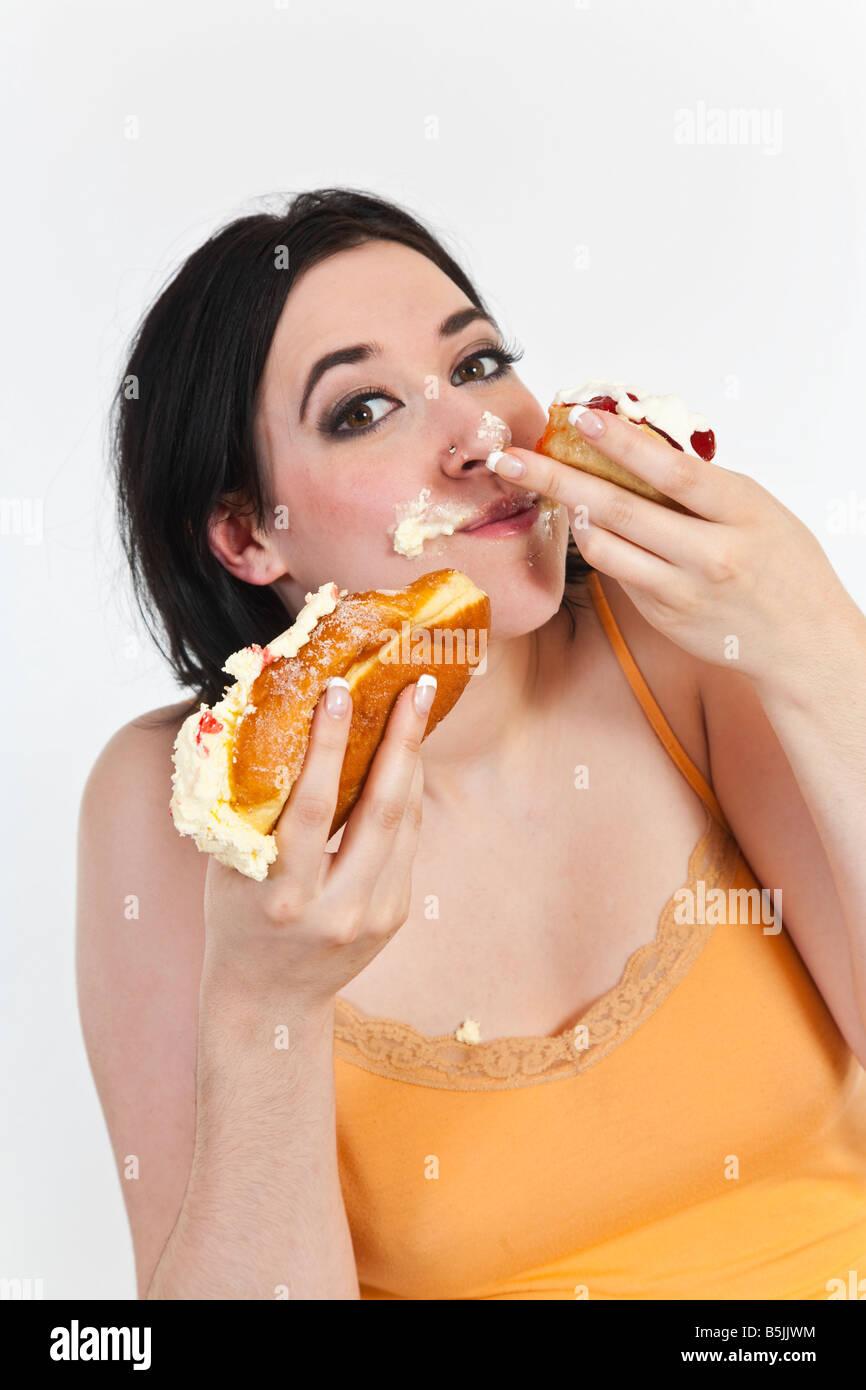 Teen masturbation facial gif