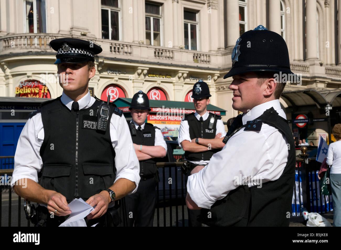 Metropolitan Police, London England UK - Stock Image