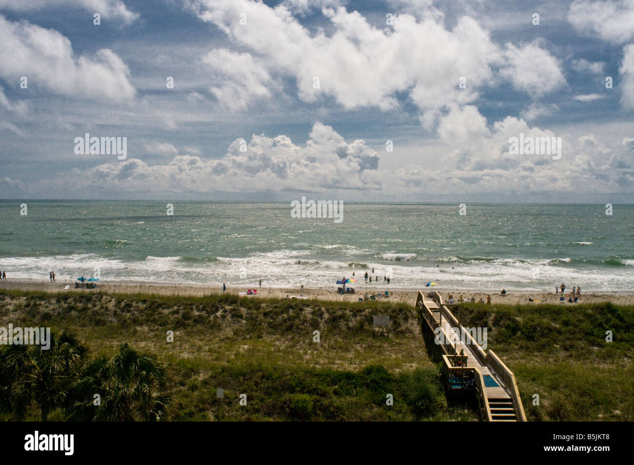 Pawleys island South Carolina ocean seaside resort - Stock Image