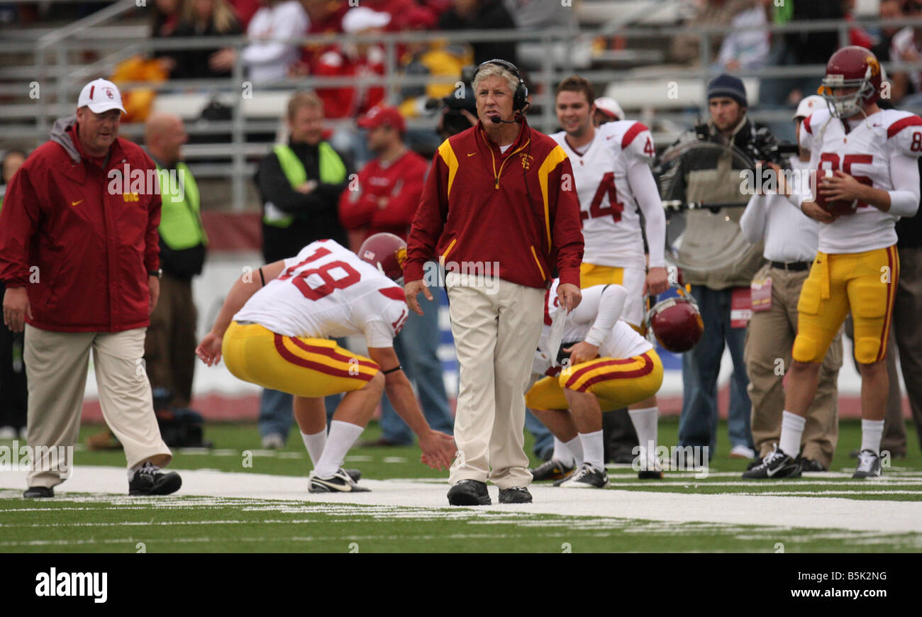what teams has pete carroll coached
