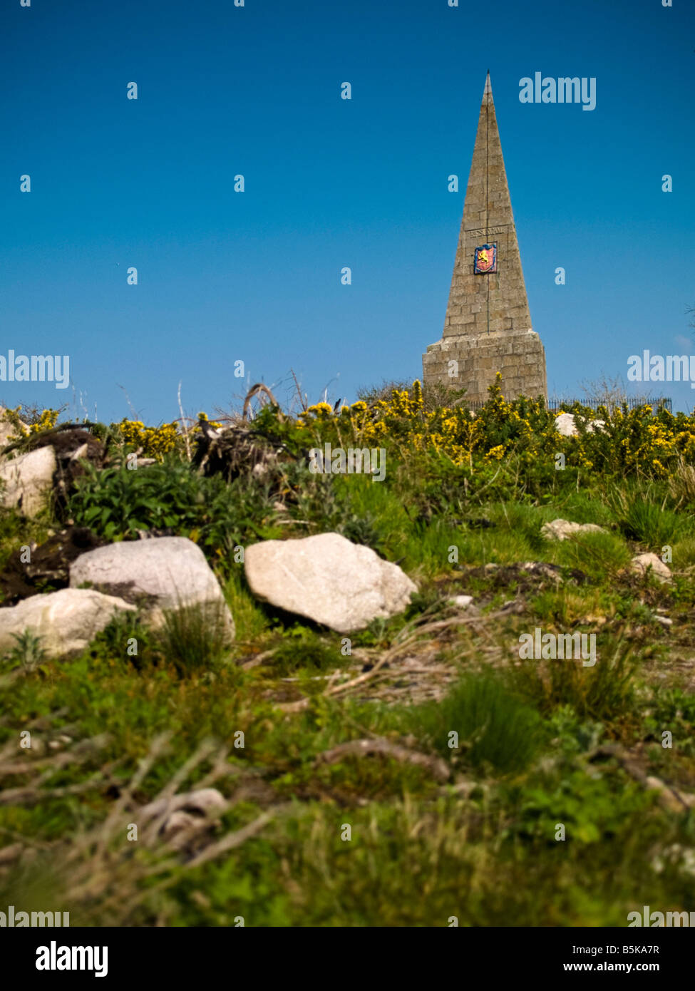 Knills Steeple, St Ives, Cornwall - Stock Image