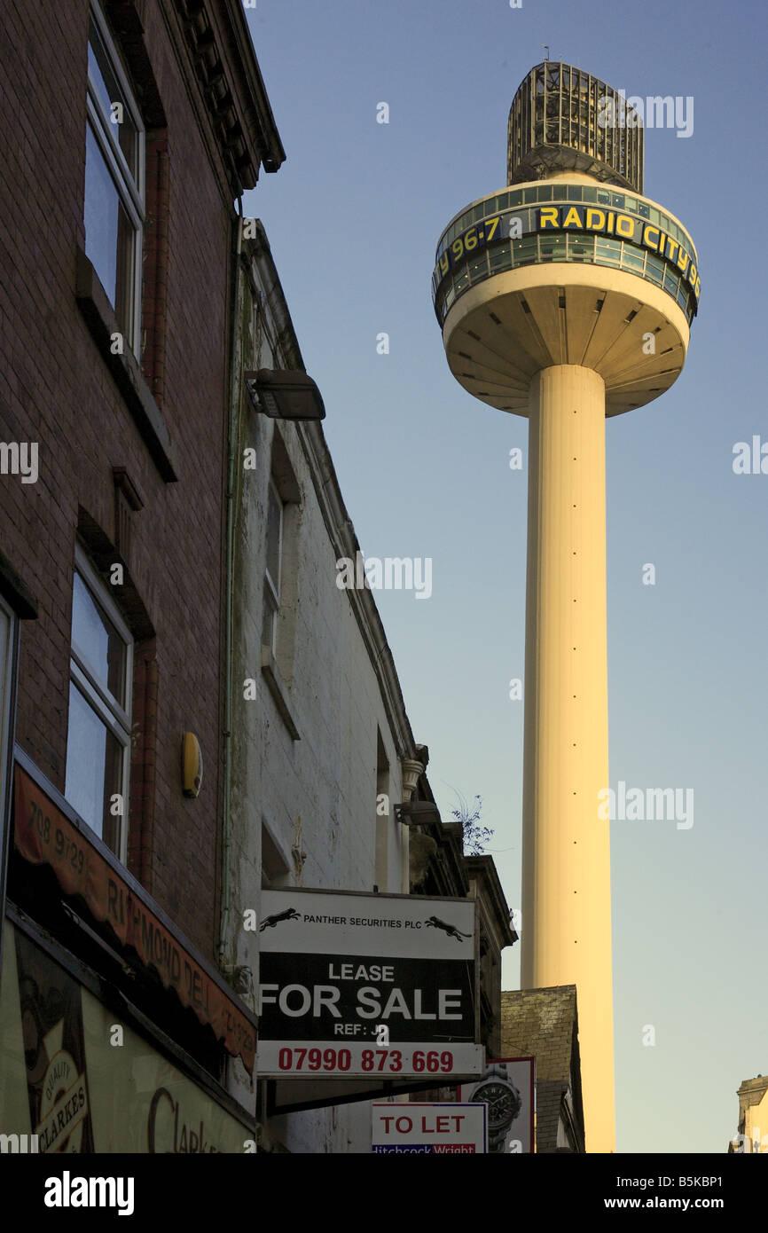 Radio Tower Liverpool Stock Photos & Radio Tower Liverpool
