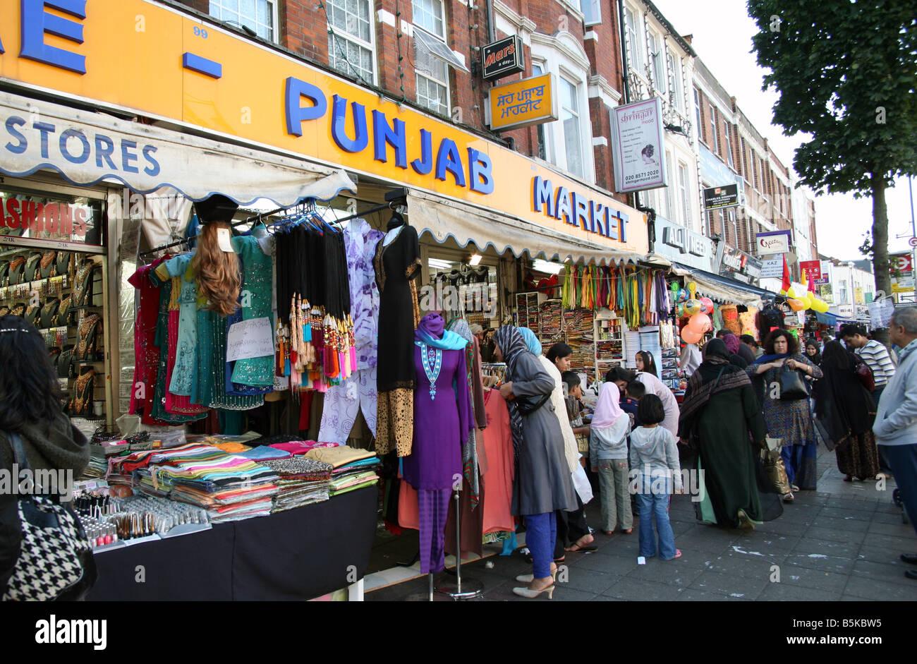 Indian clothes shop london
