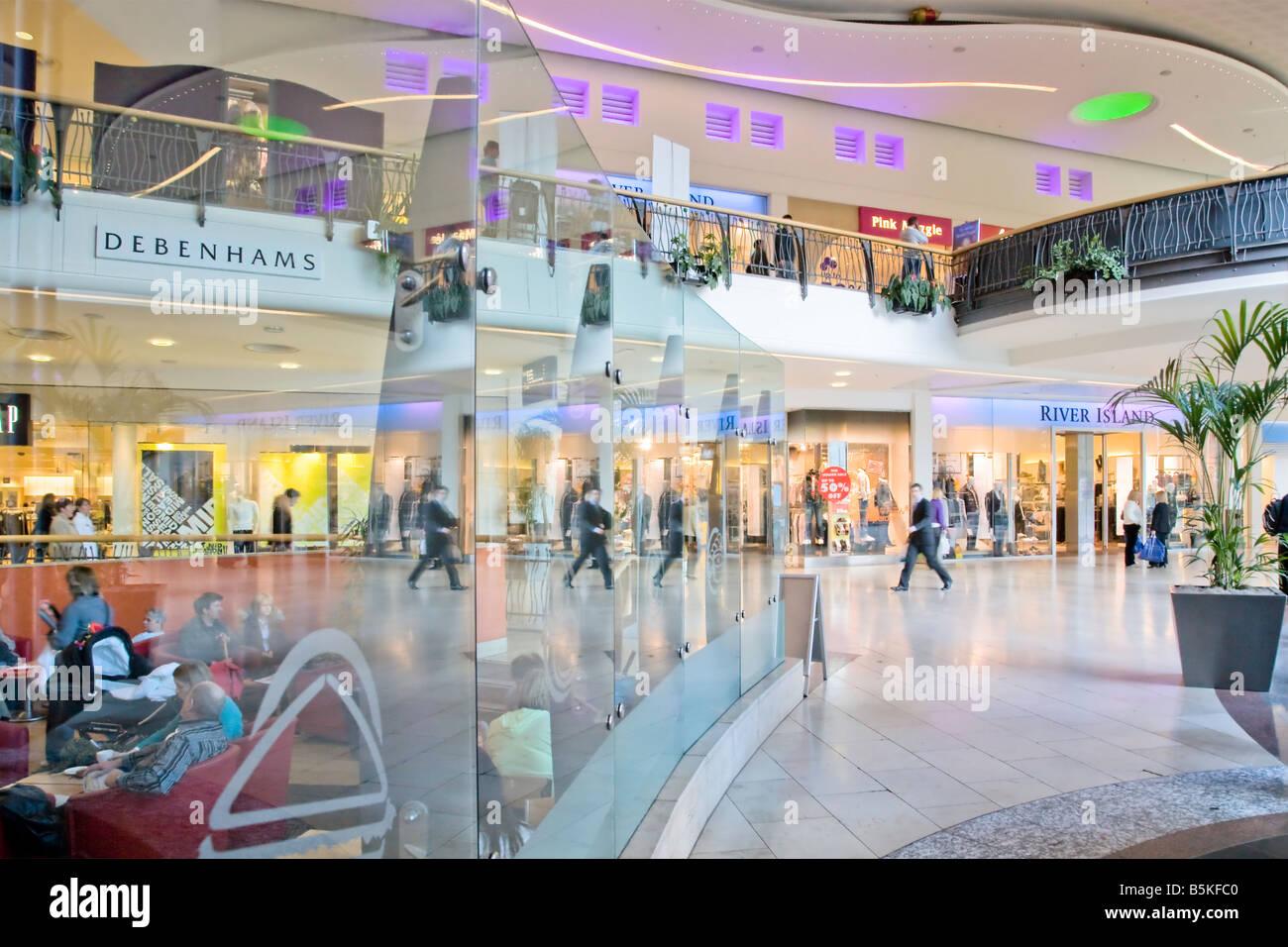Overgate shopping centre Dundee Scotland - Stock Image
